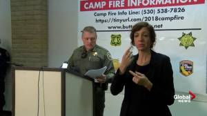 Camp fire: Butte County officials bring cadaver dogs to help locate bodies