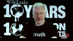 Sweden re-opens rape case as Julian Assange's lawyer calls it an 'embarrassment' (01:18)