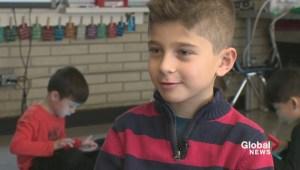 Ronan Male, 6, awarded for life-saving 911 call