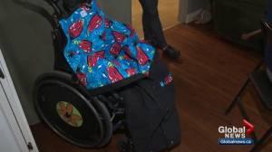 Edmonton family creates kids with disabilities stay warm
