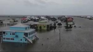 Storm Barry hammers Louisiana with rain and flooding