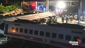 Taiwan train crash deadliest in decades