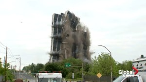 Implosion leaves tallest building in Lehigh Valley, PA in plume of dust