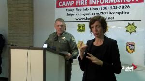 Camp fire: 42 people dead as firefighting efforts continue