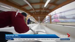 Bobsleigh 360 app helps athletes train safely