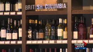 Alberta suspends ban on B.C. wine