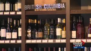 Alberta suspends ban on B.C. wine