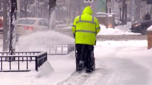 Winter storm in U.S. Northeast leaves people stranded as flights are cancelled