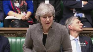 Theresa May shuts down calls for second Brexit referendum