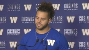 RAW: Blue Bombers Brady Oliveira Interview – May 3 (13:47)