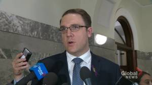 Alberta environment minister reacts to federal implementation of carbon tax on province