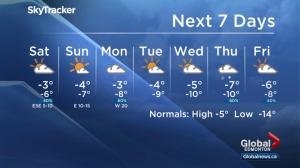 Global Edmonton weather forecast: Jan 19