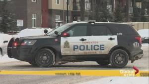 A southeast Edmonton apartment is taped off