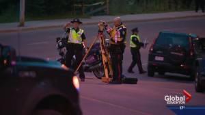 Edmonton police investigate fatal motorcycle crash