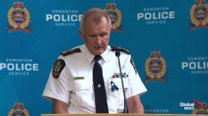 Edmonton Police provide additional information on the death of Const. Daniel Woodall