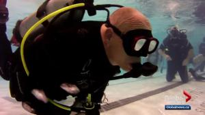 Technology helps scuba diver continue his hobby despite heart attack
