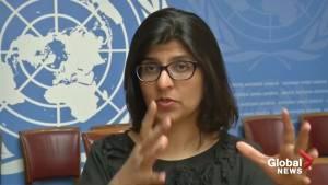U.N. human rights office condemns Saudi Arabia's beheading of 37 men