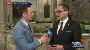 Alberta Budget 2018: Finance Minister Joe Ceci talks debt, deficit, pipelines