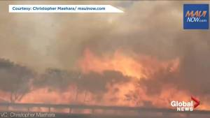 Evacuations ordered brush fire burns out of control in Maui
