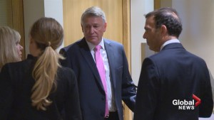 Closing arguments heard in 'knees together' hearing