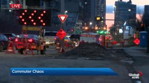 Delays expected while water repairs done on 9 Avenue S.W.