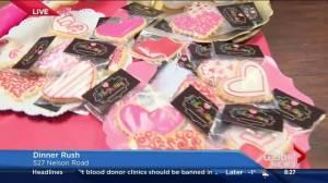 Designer Valentine's Day cookies