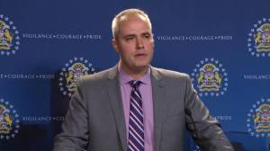 Fletcher Kimmel and woman charged met through online dating site: Calgary police (00:31)
