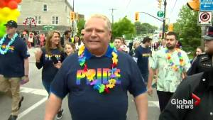 Premier Ford marches in York Region Pride parade