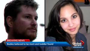 Charges pending against man questioned in deaths of Calgary mother and daughter (01:51)
