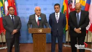 Ambassador of Palestinian Authority to the UN condemns Israeli 'aggression' on Gaza