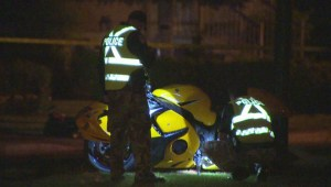 RAW: Brossard motorcycle accident