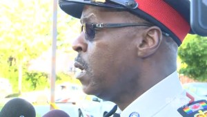 Toronto Police Chief Mark Saunders provides  update on 2 children injured in playground shooting