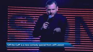 Jeff Leeson's 'Off the Cuff' comedy tour