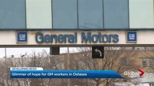 Glimmer of hope for GM Oshawa