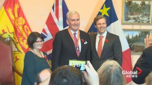 Kevin Vickers receives Order on New Brunswick