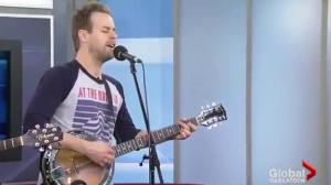 Dan Davidson performs 'Let's Go There'