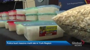 York Regional Police say officers busted largest meth production operation in its history