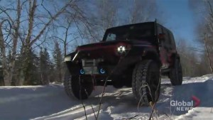 Manitoba's Red River Jeep Club rings in the new year, helps community