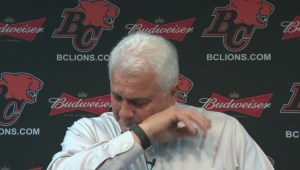 Tearful farewell for Wally Buono