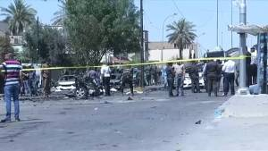 1 killed, 6 injured in Baghdad suicide car bomb explosion