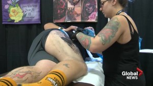 Competition pits friends against each other at Lethbridge tattoo convention