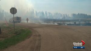 2 wildfires north of Edmonton under control