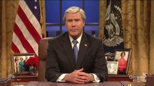 Will Ferrell reprises role as George W. Bush in SNL cold open (06:02)
