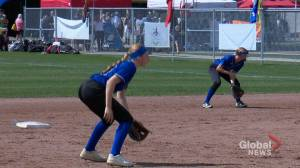 Alberta teen fast pitch player defies disease