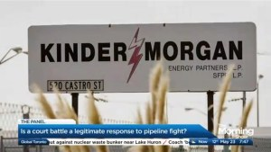 Is a court battle the right response to the pipeline battle?