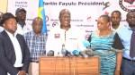 Congo presidential runner-up Fayulu declares himself president