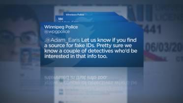 Twitter user looks for fake ID, Winnipeg police respond