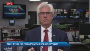 Natural Resources Minister Jim Carr speaks about what the next steps are for the Trans Mountain pipeline project