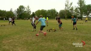 Spikeball gaining popularity in Saskatchewan