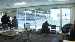 Winnipeg students taking high school courses at Investors Group Field